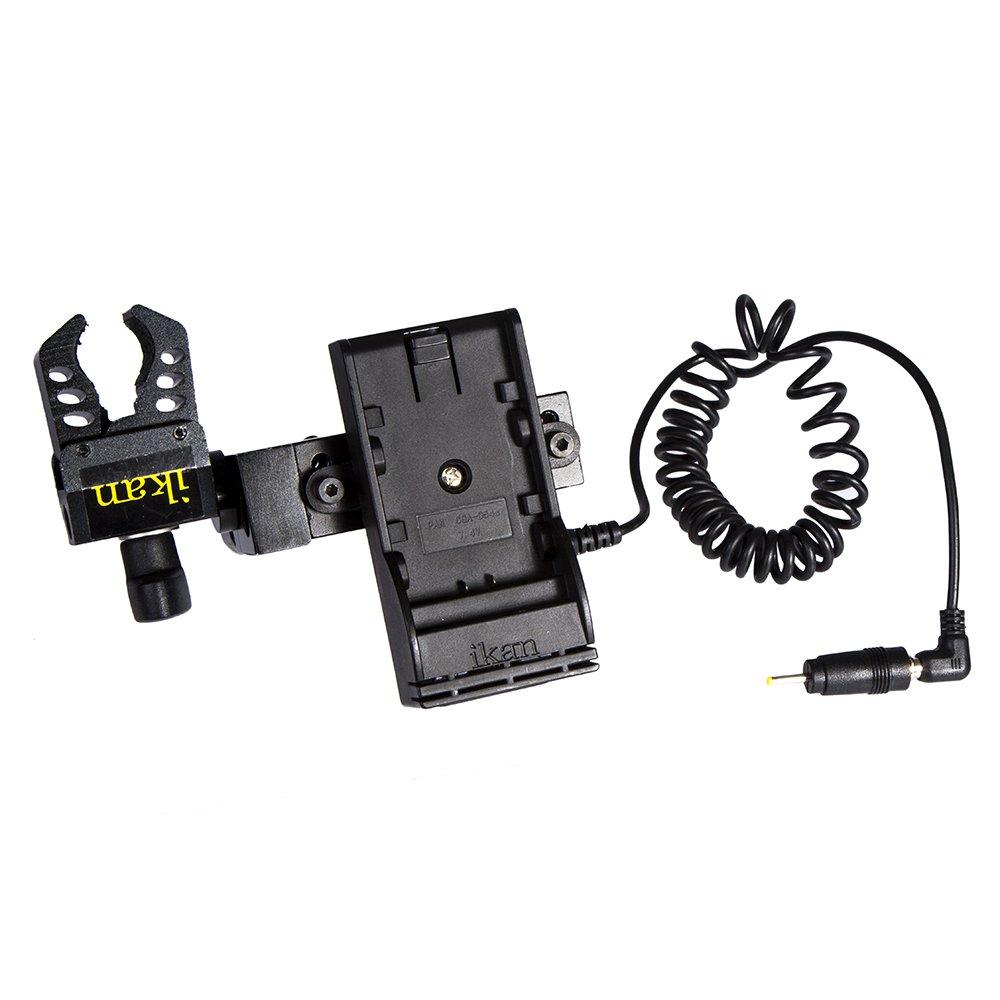 Black Ikan BMPCC-PWR-1RD-P Blackmagic Pocket Cinema Camera Single Rod DV Power Kit for Panasonic D54