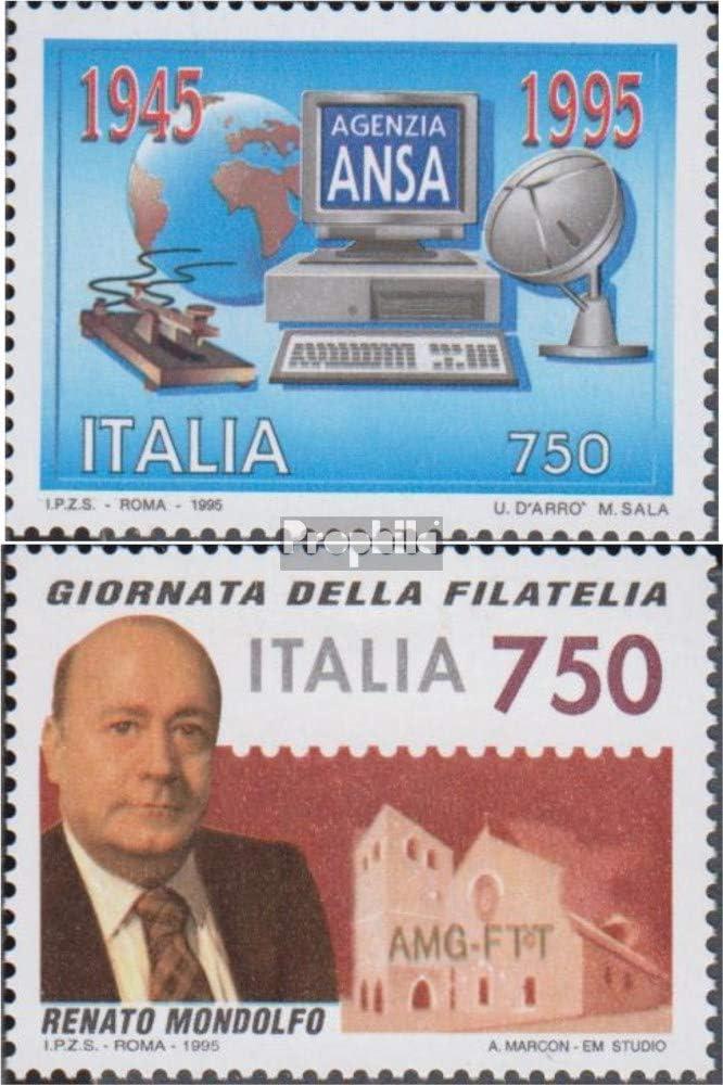 Lotterie 2000 Eintritt in das Jahr 2000 Briefmarken f/ür Sammler kompl.Ausg. Prophila Collection S/üdafrika 1244,1245