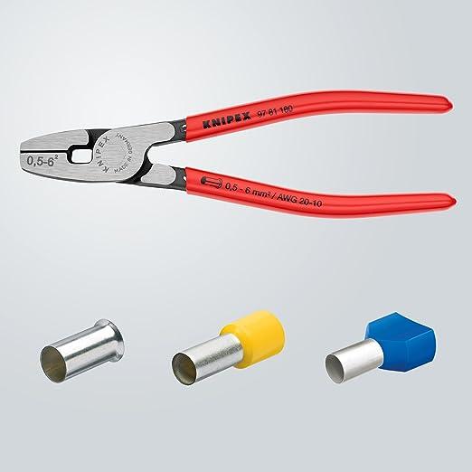 Knipex 7655040005 Alicate de engarce, Plata: Amazon.es: Bricolaje y herramientas