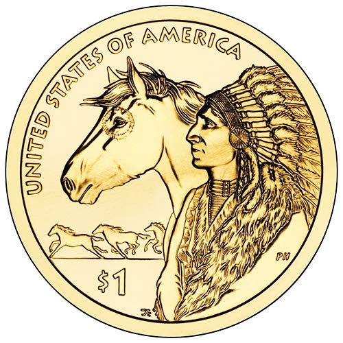 2012 D Position B BU Trade Routes in the 17th Century Sacagawea Native American Dollar Choice Uncirculated US Mint