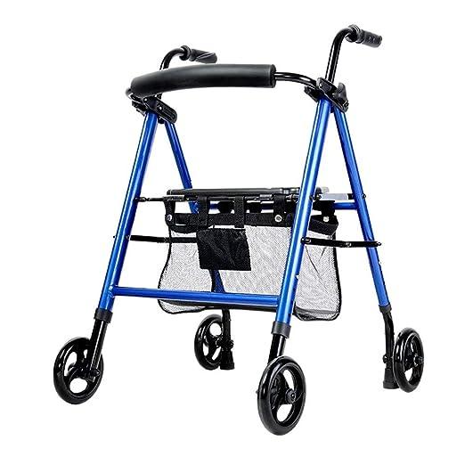 Andador con ruedas Walker plegable con ruedas andadores de ...
