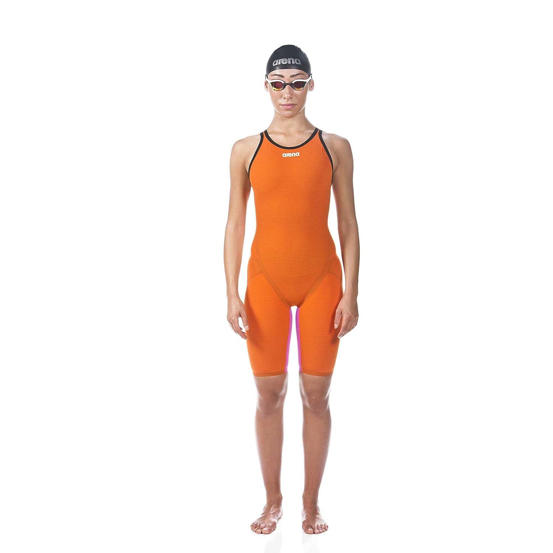Image of Arena 000930 Women's Powerskin Carbon Flex VX Jammer, Orange-Fuchsia - 32 Dive Skins