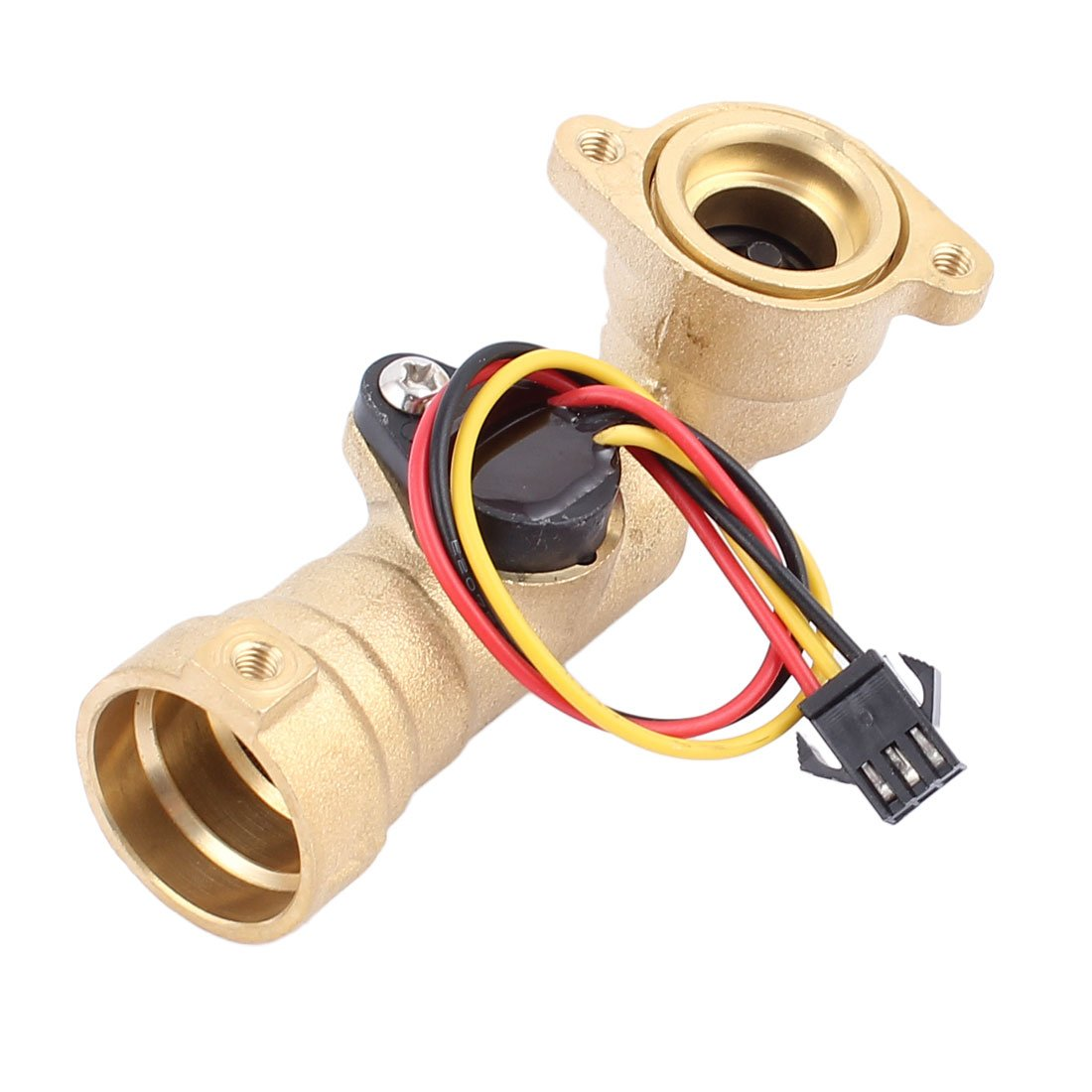 sourcingmap G1/2' Thread Hall Effect Liquid Water Flow Sensor Flowmeter Fluidmeter 1-30L/min 84.5mm Long a16042200ux0976