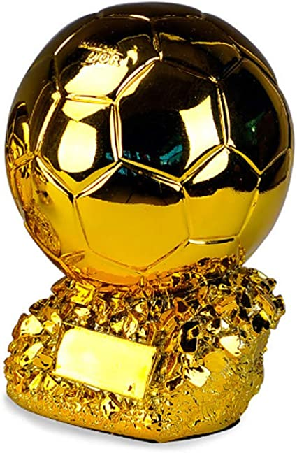 ZTXY Trofeo de Oro balón de fútbol Partido de Resina Taza de ...