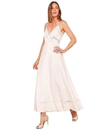Amazon.com: Fenghuavip Boho vestido de boda para playa ...
