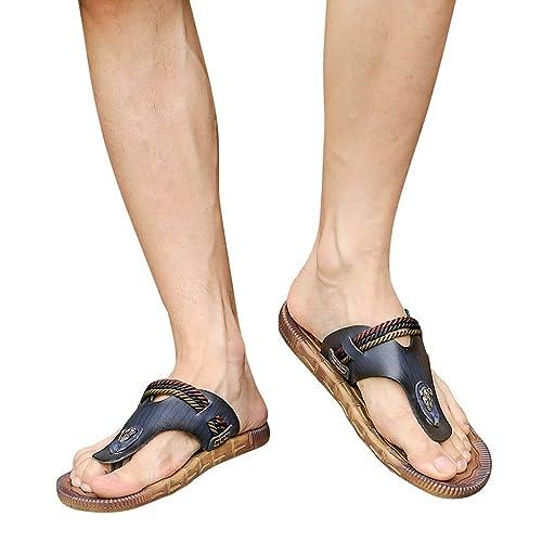 4e045d235 SamMoSon Men s Household Slippers Casual Non-Slip