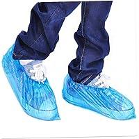 BYFRI Bota Impermeable Médica Cubiertas De Plástico Desechables