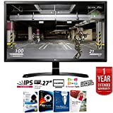 LG 27UD58-B 27' 4K Ultra HD (3840 x 2160) IPS Freesync LED Monitor + Elite Suite 17 Standard Software Bundle (Corel WordPerfect, Winzip, PDF Fusion,X9) + 1 Year Extended Warranty