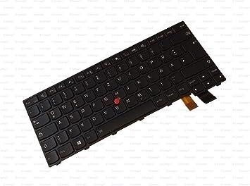 X-Comp Teclado negro con marco y puntero con retroiluminación ...