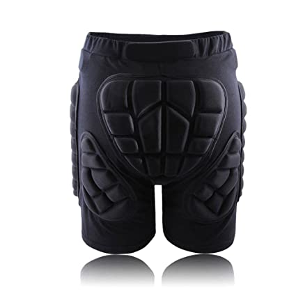 8b673dcc35d Ownsig Padded Protective Shorts Hip Butt Ski Skate Snowboard Protection  Compression Pad Unisex Pants Sports Equipment