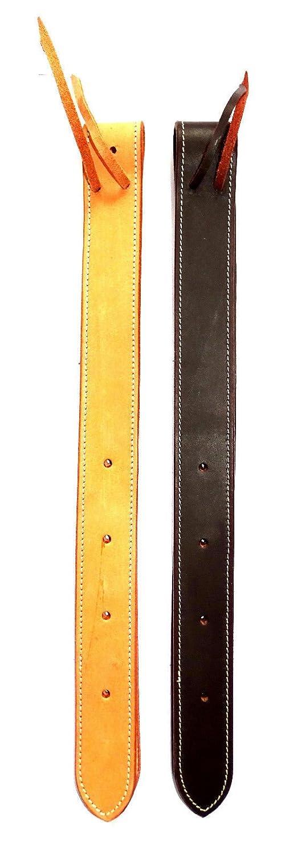 Markenlos Tie Strap zur Befestigung des Gurtes//Leder//Westernreiten//Sattel//Wogati