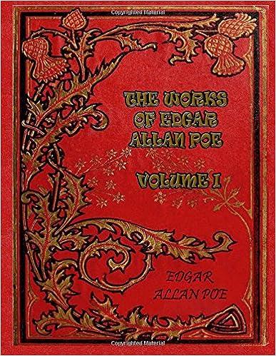 The Works of Edgar Allan Poe - Volume I