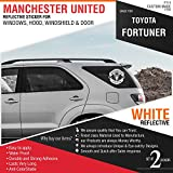 Manchester United Sticker Decal for - Toyota Fortuner