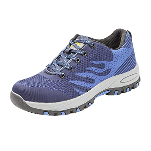 Zapatillas de Seguridad para Hombre Ligeras Unisex Adulto Calzado de Trabajo para Comodas: Amazon.es: Zapatos y complementos