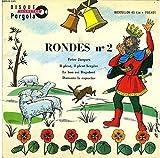 Set Of Seven Rondes Vols 1-7 Nursery Rhymes, France. Import 7