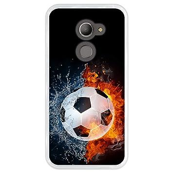 Hapdey Funda Transparente para [ Vodafone Smart N8 ] diseño ...