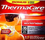 Thermacare Air-activated Heatwraps Neck Pain Therapy 3+1 Bonus Box