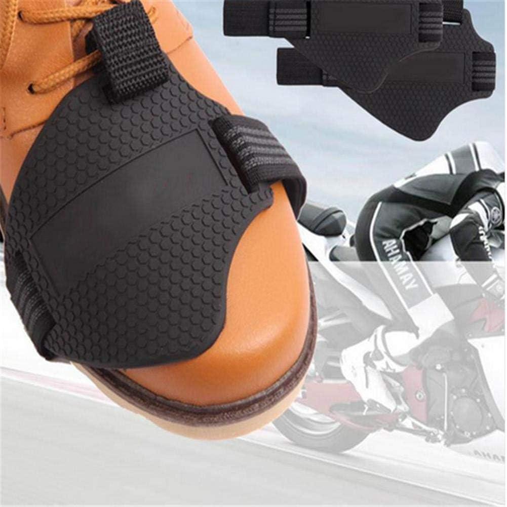 BaofuFacai Motorcycle Shoe Cover Shift Pad Protective Gear for Motorcycle Boot Motorcycle Gear Shifter Shoe Boots Protector Shift Sock Boot Cover