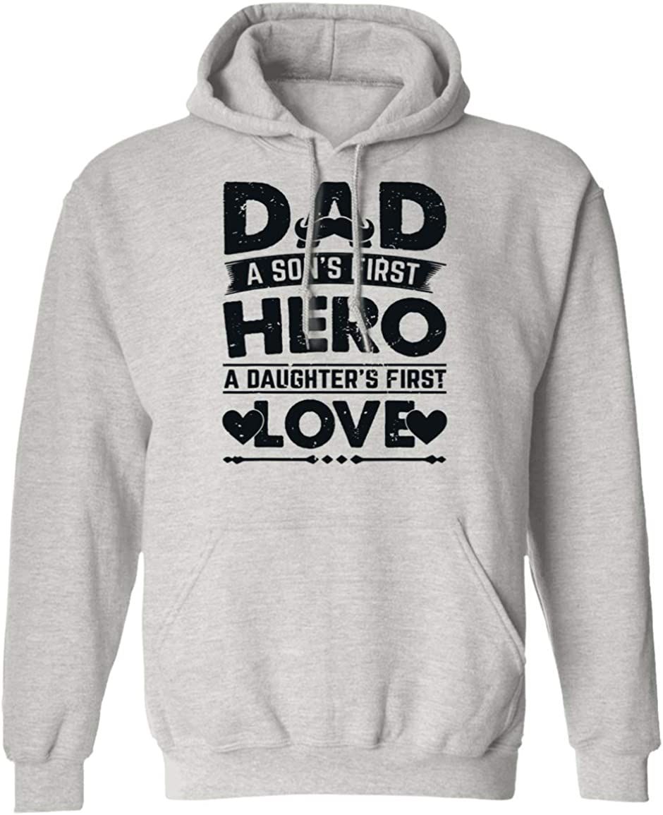 VTMMO Best Dad A Sons First Hero A Daughters First Love Shirt Hoodie