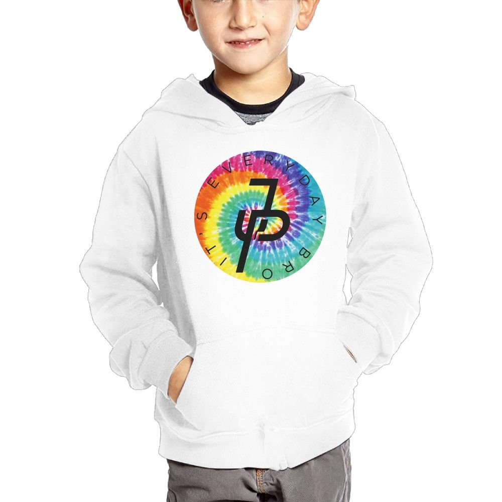 Jake Paul Rainbow Logo Youth Hip Hop Pullover Hoodie Sweater with Kangaroo Pocket Hooded Sweatshirts