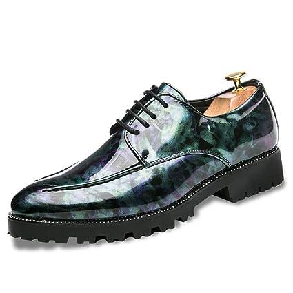 Xiazhi-shoes,, - Mocasines para Hombre Azul Turquesa 41 EU