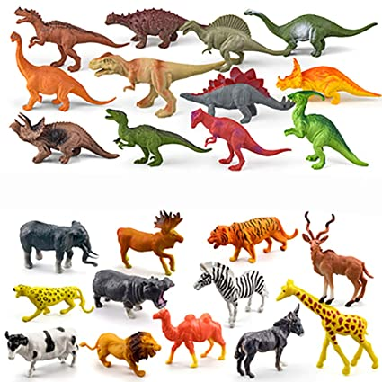 PENGYANZHOU Juego de Juguete de Dinosaurio Niño Juguete de ...