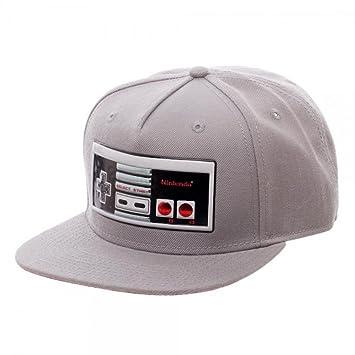 New Nintendo controlador cromado soldadura Sublimated gorra Cap ajustable adultos tamaño: Amazon.es: Deportes y aire libre