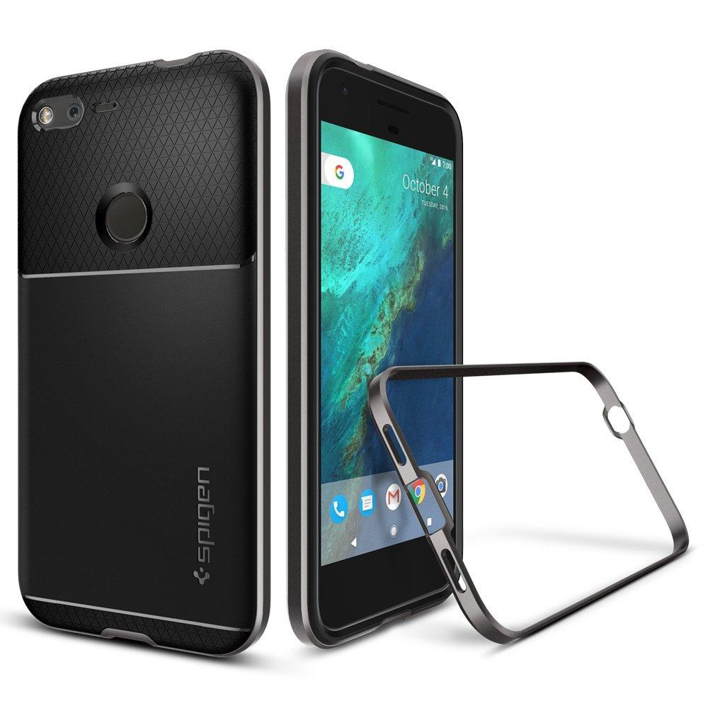 Spigen Neo Hybrid Google Pixel Xl Case With Flexible Hardcase Anti Shock Caseology Vanvo Iphone 6 Plus Black Inner Protection And Reinforced Hard Bumper Frame For 2016 Gunmetal Cell