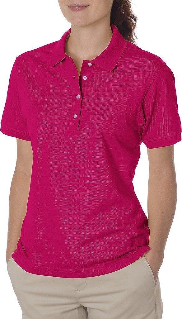 a4c66adb Jerzees Ladies 5.6 Oz. 50/50 Jersey Polo With Spotshield: Amazon.co.uk:  Clothing