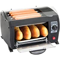 Global Gourmet Hot Dog Maker Machine - Enjoy Deliciously Cooked Hot Dogs in Just 8 Minutes! by Global Gourmet