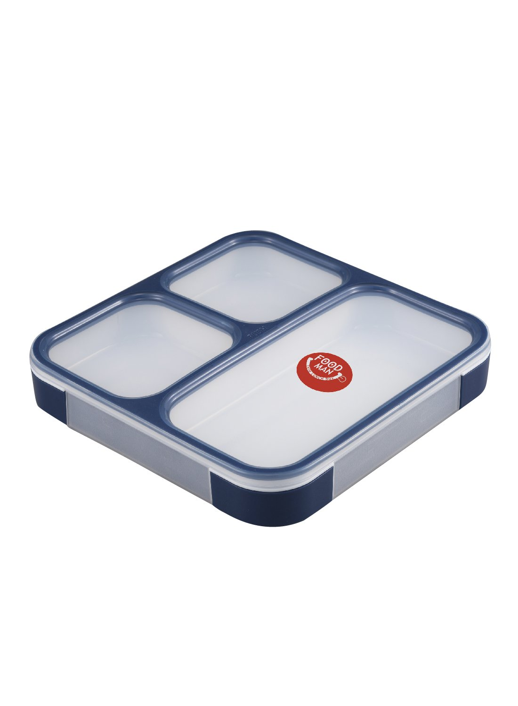 シービージャパン 弁当箱 ネイビー 薄型 フードマン 800ml DSK