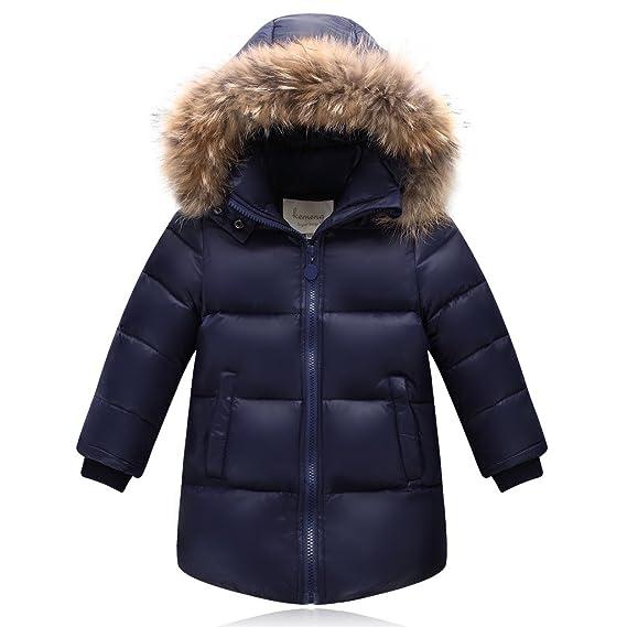 Kidslove 2016 Daunenjacke kinder Winterjacke mit Kaputze Daunenmantel mädchen Junge Baby Verdickte Winterjacke