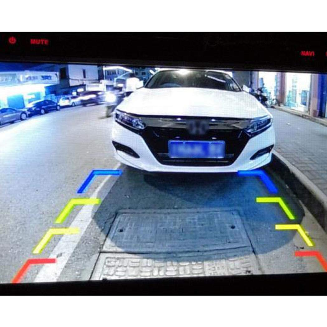5 Zoll LCD Auto Monitor Display Saugcup-Halterung R/ückw/ärts-Bild-R/ücksicht Minlop R/ückfahrkamera Auto R/ückansicht mit Nachtsicht 12 LED 170/° Winkel Wasserdicht R/ückfahrsystem