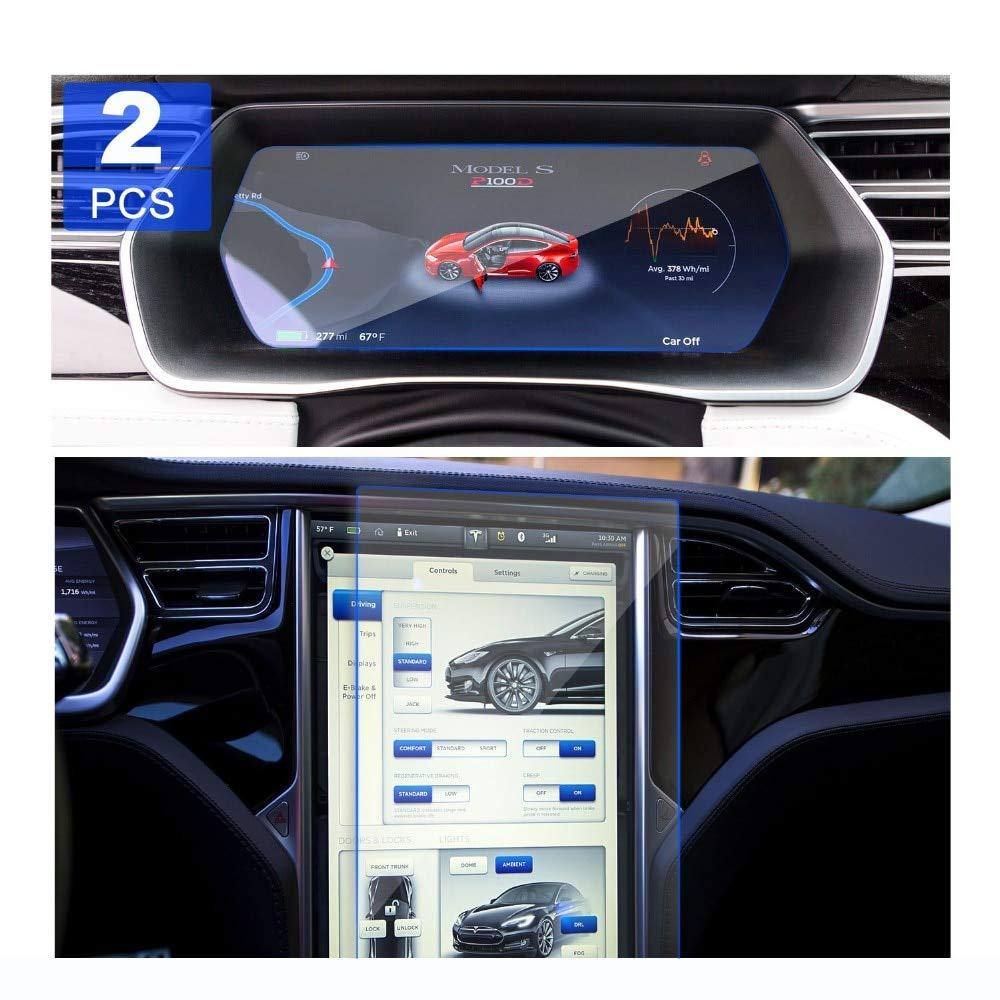 Car Navigation Screen Protection For Tesla Model X For Tesla Model S Good Screen Protection Reusable Car Accessories (3) by HUYNH TRUNG LIEM
