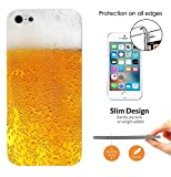 c00939 - Ale Cider Beer Look Fun Design iphone 4 4S CASE Ultra Slim Light Plastic 0.3MM All Edges Protection Case Cover-Clear
