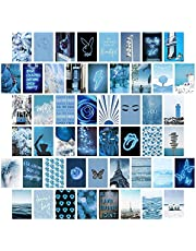 50 stuks neutrale esthetische afbeelding voor wandcollage, wandprint-kit voor kamerdecoratie, tienermeisjes, collageenkit voor wandesthetiek, kleine poster voor kamer slaapkamer