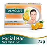 Palmolive Skin Therapy Facial Bar Soap with Vitamin C and E - 75g