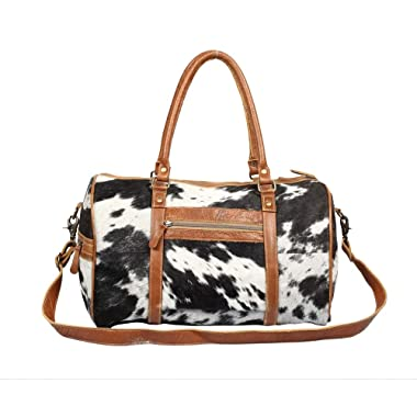 Myra Onyx Hair On Traveller Bag