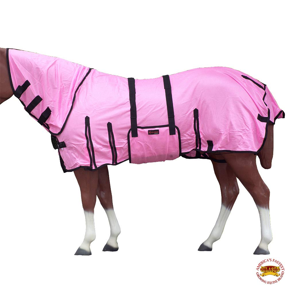 HILASON 66-84 UV Protect MESH Bug Mosquito Horse Fly Sheet Summer