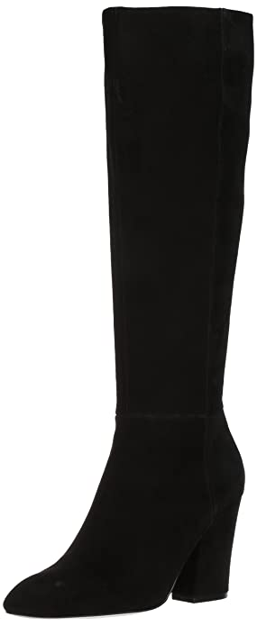 Suede Shearling High Knee Boot Nine West Women's tFwq0WZf