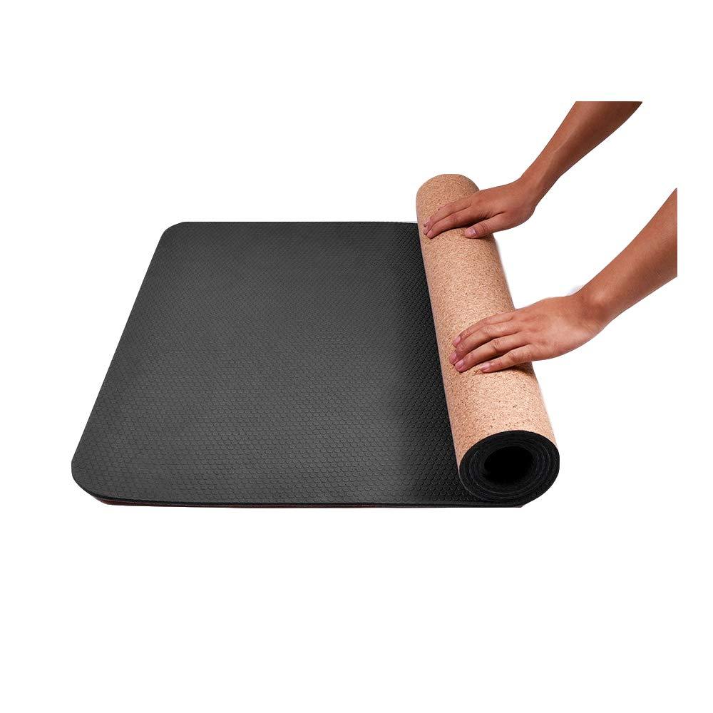 SHENG Esterilla Yoga,Estera de Yoga de Yute Respetuoso del ...