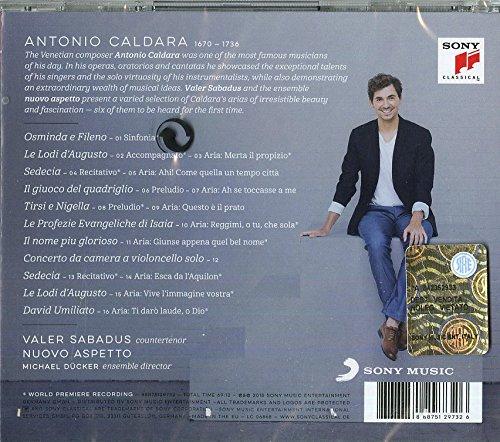 Antonio Caldara - Opera Arias - Valer Sabadus