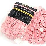 BlueZoo Depilatory Hard Wax Beans - 100 gms Rose