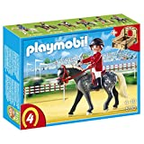 Playmobil Trakehner Horse with Equestrienne and Stable