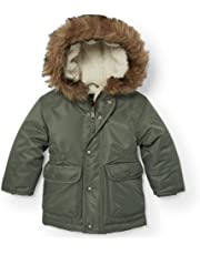 3af409779 The Children's Place Baby Girls' Faux Fur Lined Parka Jacket 1