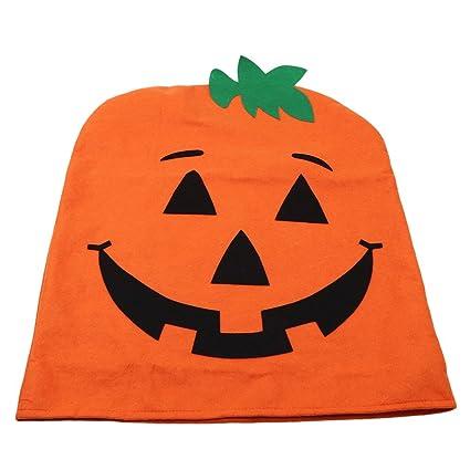 Beau Edtoy Halloween Pumpkin Chair Cover, Ghost Festival Supplies Decoration