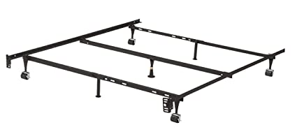 Amazon Com Kings Brand Furniture 7 Leg Adjustable Metal Bed Frame
