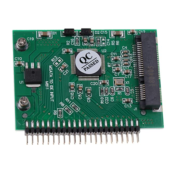 Baosity 2.5 Inch SATA to 44 Pin IDE Female Card Adapter Converter for HDD SSD