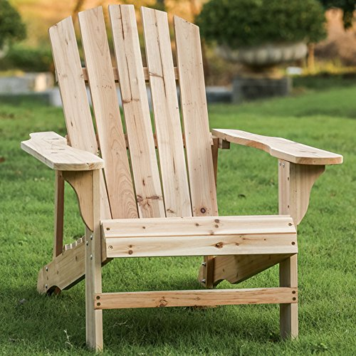 Sinwo Clearance! Outdoor Wood Patio Lounge Chair, Home ...