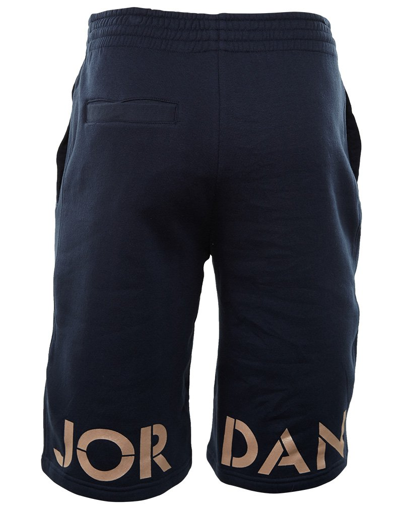 11bb3a684d2d Amazon.com  Nike Mens Air Jordan Retro 5 Shorts Obsidian Blue Metallic Red  Bronze 835376-451 Size Medium  Sports   Outdoors